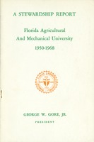 Stewardship report: Florida Agricultural and Mechanical University, 1950-1968
