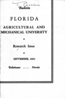 Research issue - Florida Agricultural and Mechanical University