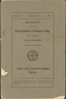 The Bulletin of the Florida Agricultural and Mechanical College for Negroes. Series XI. No. 2