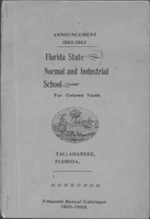 Annual catalog 1901-1902 Florida State Normal and Industrial School For Colored Youth Tallahassee, Florida