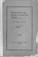 Florida State Normal & Industrial College For Colored Students, Tallahassee, Florida, Thirteenth Annual Catalogue 1899-1900