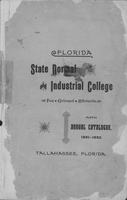 Fifth Annual Catalogue 1891-1892; Florida State Normal and Industrial College for Colored Students