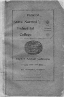 Eighth Annual Catalogue 1894-1895; Florida State Normal and Industrial College for Colored Students