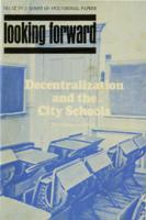 Decentralization and the city schools