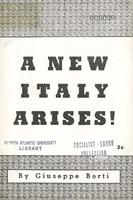 A new Italy arises