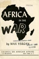 Africa in the war