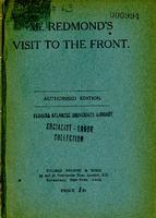 Account of a visit to the front