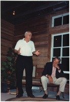 [Francis Bailey at Sanibel Historical Village and Museum in 1993]