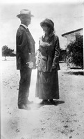 [Frank Bailey and Mary Mead Matthews Bailey on their wedding day]