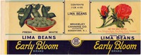 Canning Label: Early Bloom