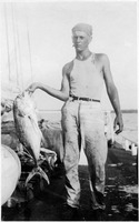 Bill Kimball Shows His Catch