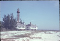 Open Beach, Sanibel Light and Keeper's Quarters