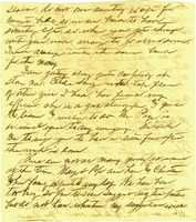 Letter to Earnest Bailey from Frank (Part 2)