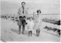 [Martin Luther, Charles Henry, and Gladys Lucille, children of Charles Henry Williams]