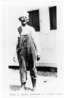 [Nels J. Holt, a Sanibel homesteader from Sweden, married Nannie Nutt late in life.]