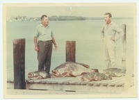 Clarence Rutland and Mario Hutton with a Catch of Fish