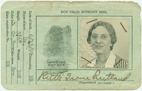 Coast Guard ID for Ruth Rutland (front)