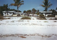 Beach Front View of The Sanibel Cottages