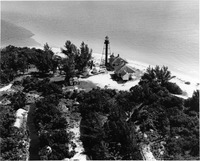 Aerial View of the The Sanibel Lighthouse Complex