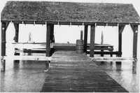 Dock at Sanibel Lighthouse