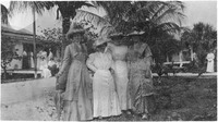 Alice Tayntor, Mrs. Blaisdell, Marie Shulye, and Mary Tayntor.