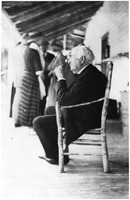 [Thomas Edison visits at Casa Ybel Resort in the early 1900s]