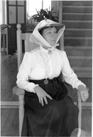 Betty Williamson Portrays a Historic character