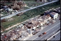 [Construction Debris U.S. 1, Hurricane Andrew]