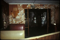 [Inside Downstairs Monroe Station 1992 Facing West]