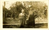 Emma Norton and unidentified woman