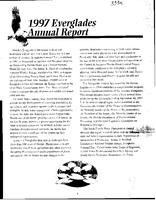 1997 Everglades Annual Report