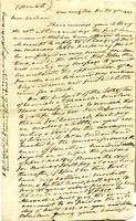 1831 Letter from President Andrew Jackson to William Donelson