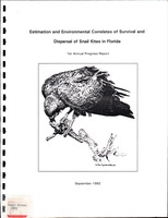 Estimation and Environmental Correlates of Survival and Dispersal of Snail Kites in Florida