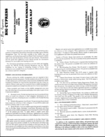 Brochure: Big Cypress; Regulations Summary and Area Map