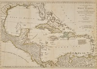 compleat map of the West Indies containing the coasts of Florida, Louisiana, New Spain and Terra Firma