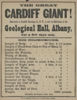 The Great Cardiff: Geological Hall Herald
