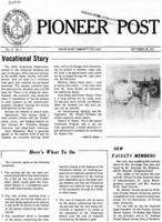 Pioneer Post Volume 11, Number 1