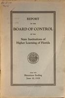 Report of the Board of Control