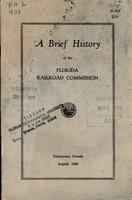 A Brief History of the Florida Railroad commission