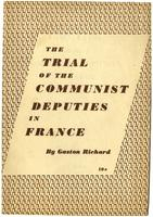 The trial of the communist deputies in France