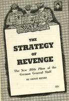 The strategy of revenge: The new Blitz Plan of the German general staff