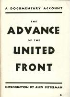 The Advance of the United Front: A documentary account