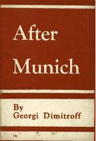 After Munich [and other pamphlets]