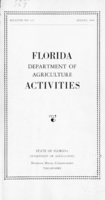 Florida Department of Agriculture activities