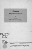 Planning programs of study in Florida elementary schools