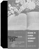 A guide, reading in Florida secondary schools