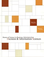 Master of Science in Business Administration : Decision & Information Sciences