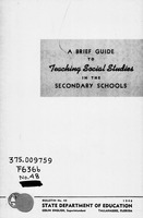 A brief guide to teaching social studies in the secondary schools