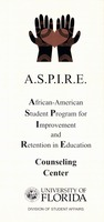 A.S.P.I.R.E: African-American Program for Improvement and Retention in Education / [Anne Heath, Jennifer Sager]