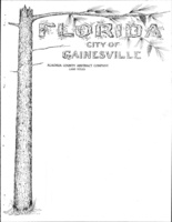 Florida: City of Gainesville; Alachua County Abstract Company, Land Titles